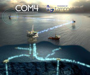 Com4 og Tampnet med 4G offshore